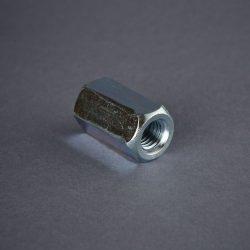 Hatlapú toldó anya, horganyzott Coupling nut, zinc plated Piulita inalta de conexiune
